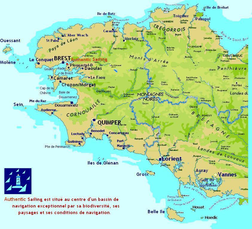Embarquer & Naviguer à la voile en Mer d'Iroise
